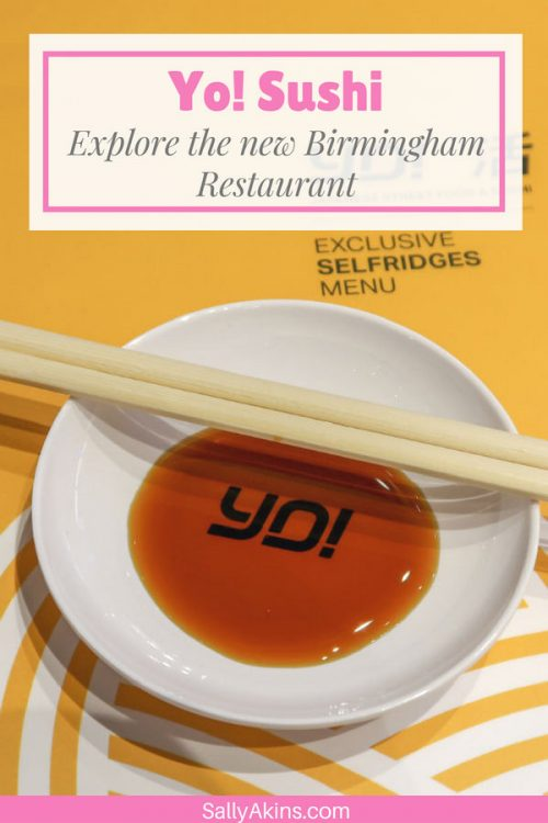 Discover the new look and new menu at Yo! Sushi in Selfridges, Birmingham (UK), with tips for first time visitors as well.