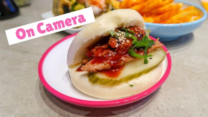 On Camera - a video showing you around the Yo! Sushi restaurant in the Selfridges store in Birmingham