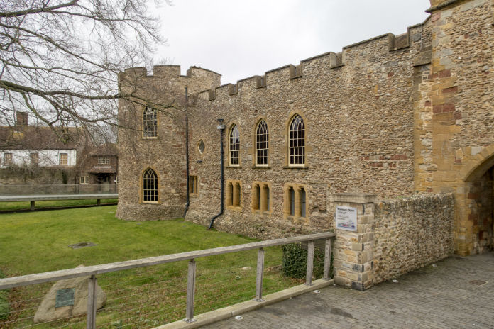 Taunton Castle, Taunton, Somerset, UK
