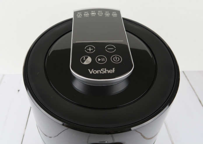 The VonShef Digital Air Fryer has a digital touch-control panel that's easy to use