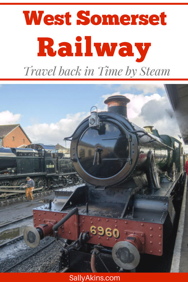 If you are visiting Somerset in the UK, then a visit to the West Somerset Railway is a must! Take a look at a journey by steam from Taunton to Minehead. #Taunton #Somerset #UK #Travel