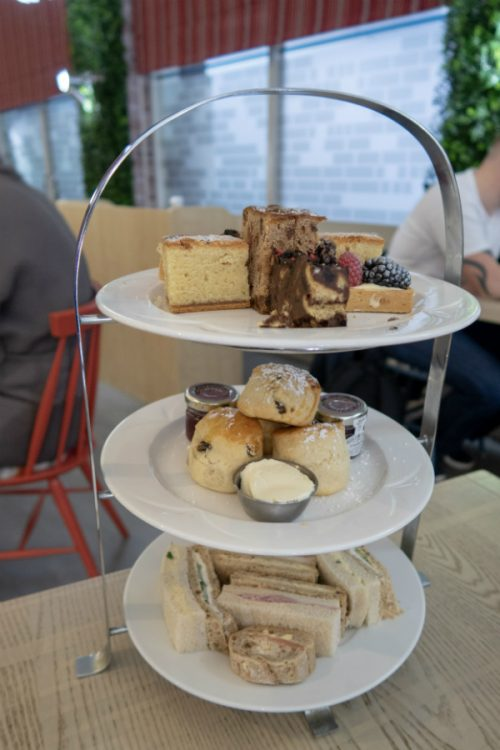 Afternoon tea at The Belfry, Warwickshire