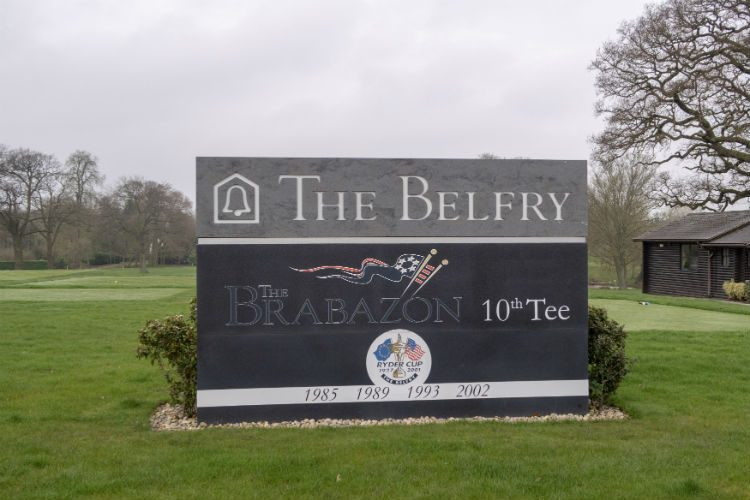 The Brabazon golf course at the Belfry