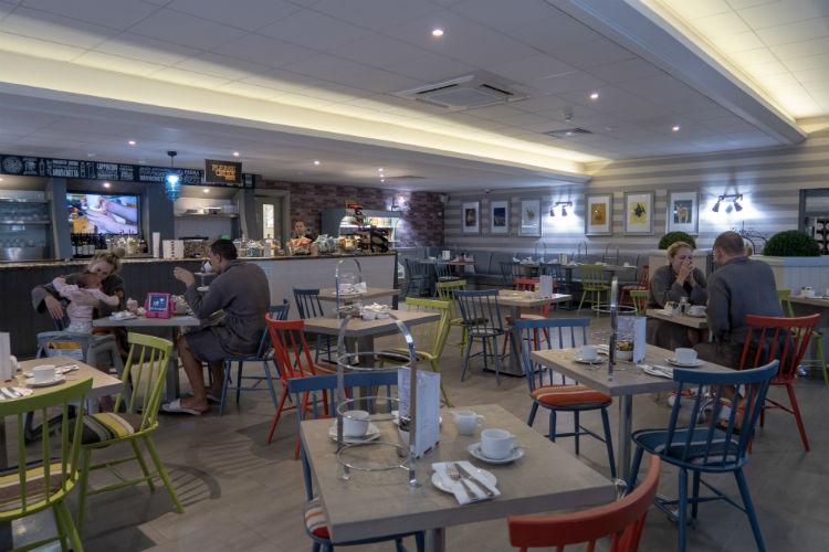 Rocca's restaurant at the Belfry Spa, Warwickshire, UK