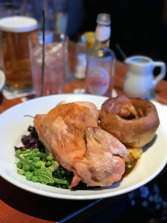 Sunday Lunch at The Lord Clifden in Birmingham