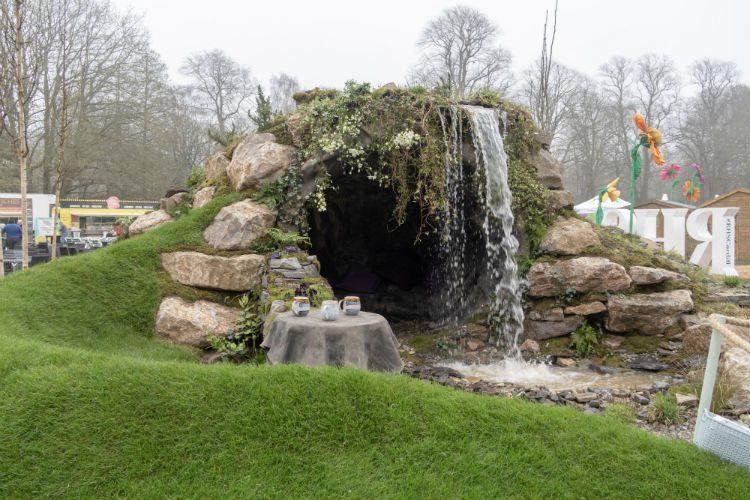 Cwm Caerdydd - one of the show gardens at the RHS Cardiff Flowershow 2018