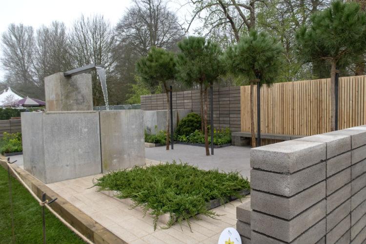 The Urban Regeneration Garden at RHS Flower Show Cardiff 2018