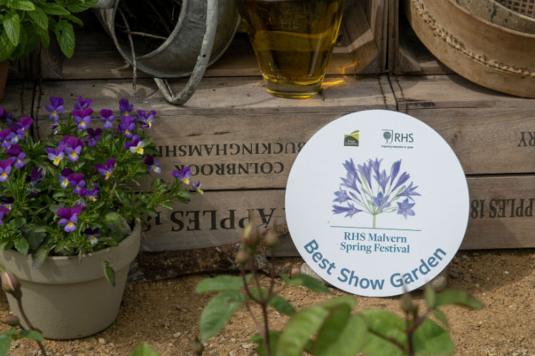 Best Show Garden Award at the RHS Malvern Spring Festival 2018