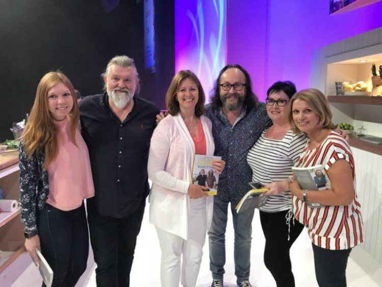Meeting the Hairy Bikers at the BBC Good Food Show Summer 2018
