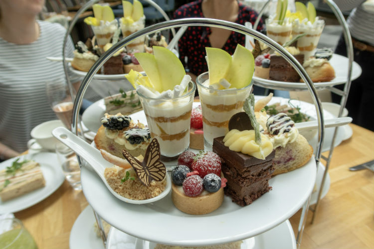 Afternoon tea at the Hyatt Regency Birmingham