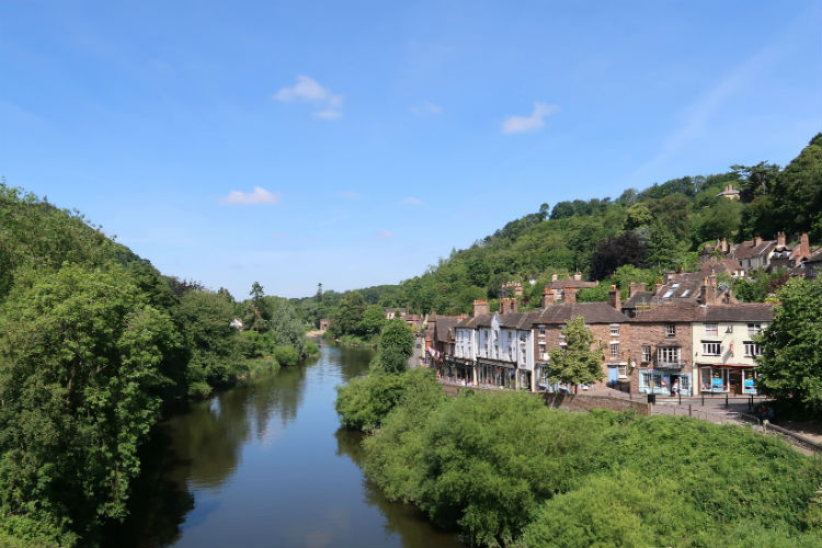 The Ironbridge Gorge in Shropshire