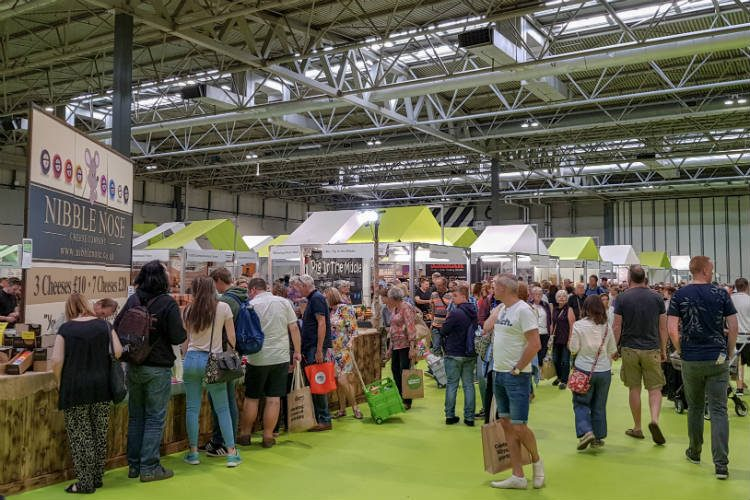 The BBC Good Food Show Summer 2018 at the Birmingham NEC