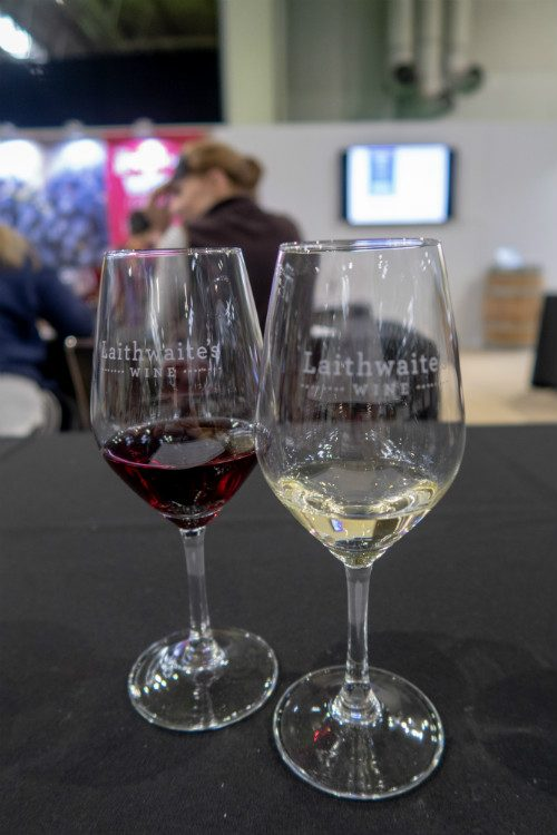 Wine tasting with Laithwaites
