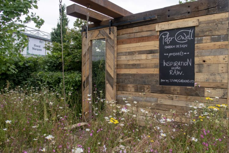 Wildflower planting at BBC Gardeners World Life 2018