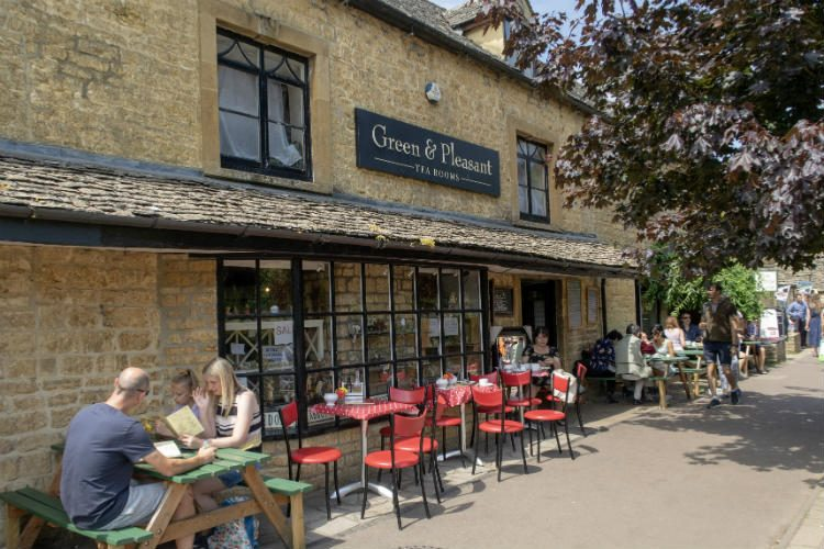 The Green & Pleasant, a tearoom in Bourton-on-the-Water