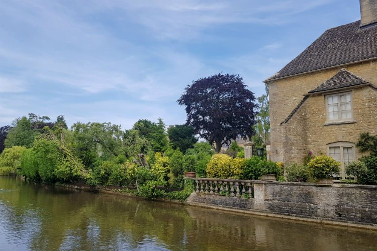 A riverside house in the pretty Cotswolds village of Bourton-on-the-Water