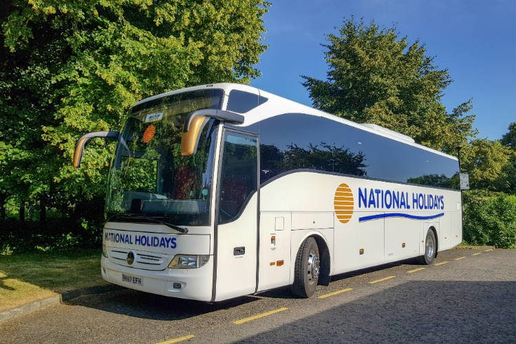 A National Holidays coach