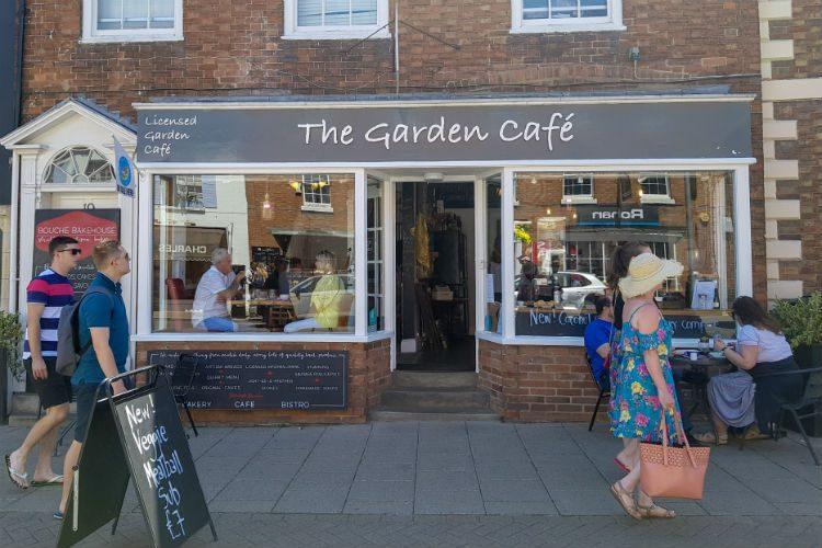 The Garden Cafe in Stratford upon Avon