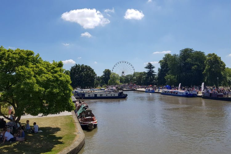 River Fest at Stratford upon Avon, one of the destinations on my National Holidays Mystery weekend