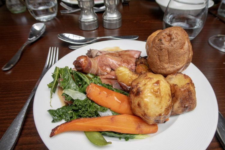 The Sunday Lunch Carvery at 1565 in the Park Regis Birmingham