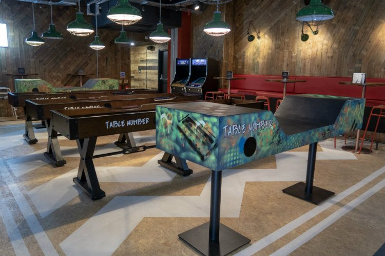 Beer pong, shuffleboard and retro gaming at Lane 7 Birmingham