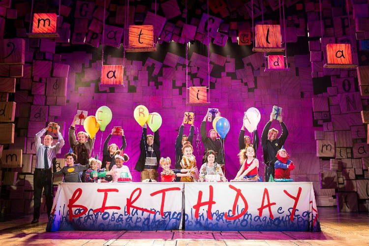Matilda the Musical at the Cambridge Theatre, London