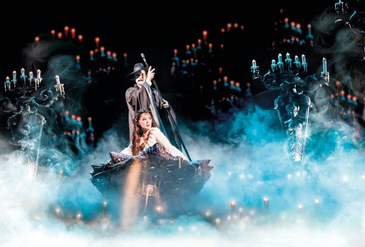 The Phantom of the Opera at Her Majesty's Theatre, London