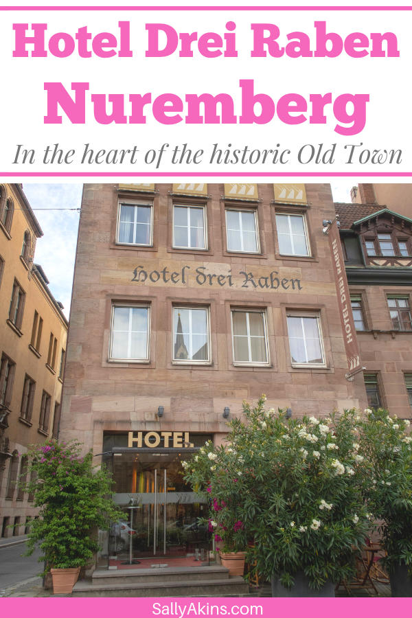 Nestled in the heart of the Old Town, Hotel Drei Raben is the perfect base for your visit to Nuremberg, Germany. Read on to find out why you should book a stay in this historic hotel #review #hotelreview #Nuremberg #Germany #luxuryhotel