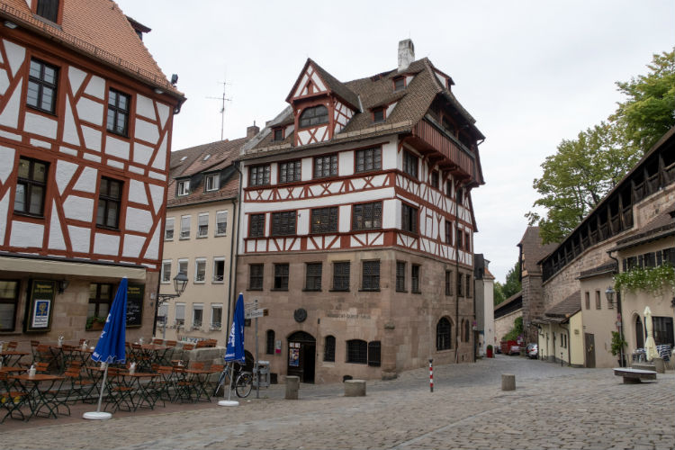 Albrecht Dürer House in Nuremberg, Germany