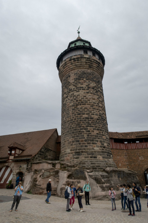The Sinwell Tower at Nuremberg's Imperial Castle, Germany