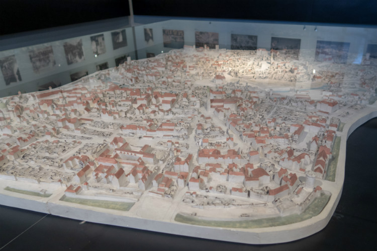 A 3D model of the destruction of Nuremberg by air-raids during World War II