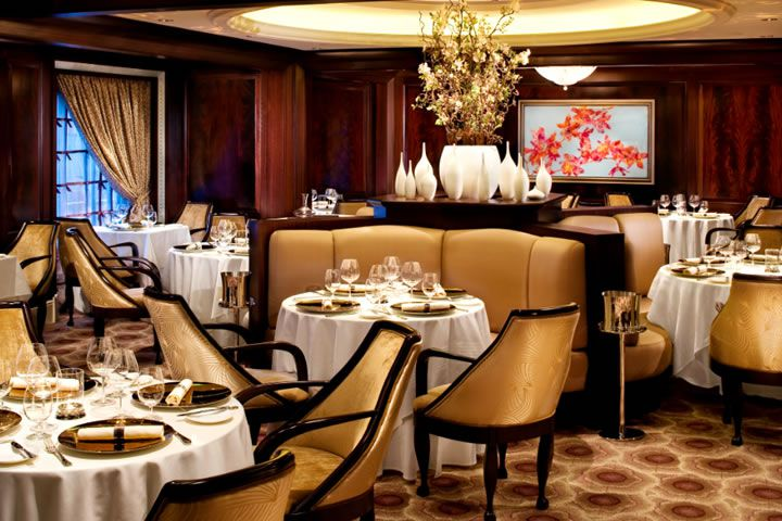 Luxury dining on board a Celebrity Cruises ship (image used with permission)