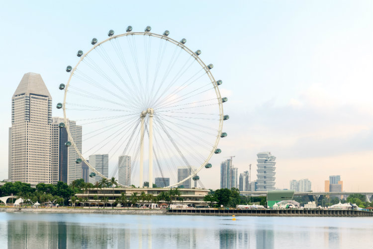 The Singapore Flyer Ferris Wheel
