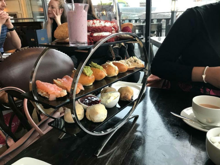 Afternoon tea at Browns in Birmingham