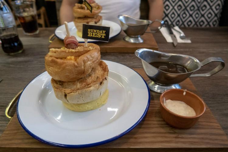 Sunday Best at the Pieminister restaurant in Birmingham, UK