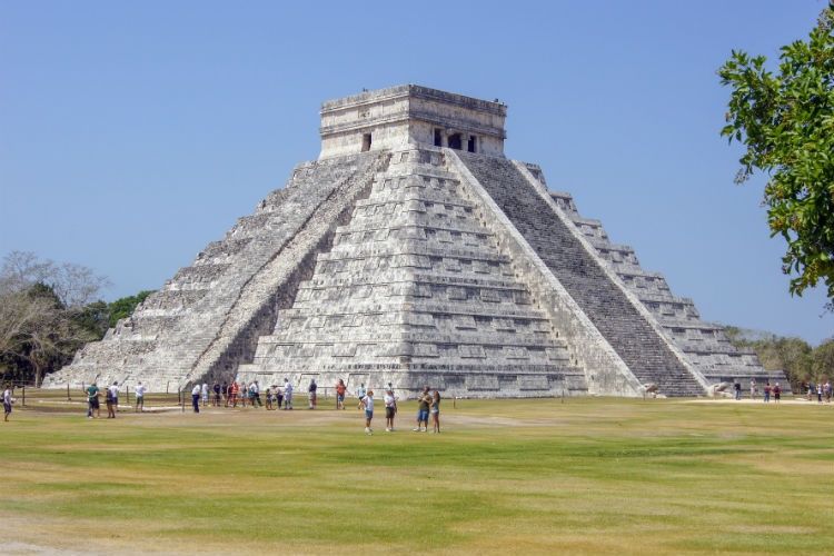 The Temple of Kulkulkan at Chichen Itza in Mexico - one of my personal Seven World Wonders