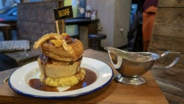 When you're feeling hungry after a busy day of Christmas shopping, Pieminister festive pies are the perfect answer! (review)