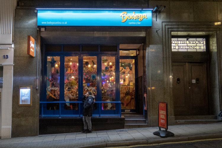 Bodega Cantina on Bennett's Hill in Birmingham, UK