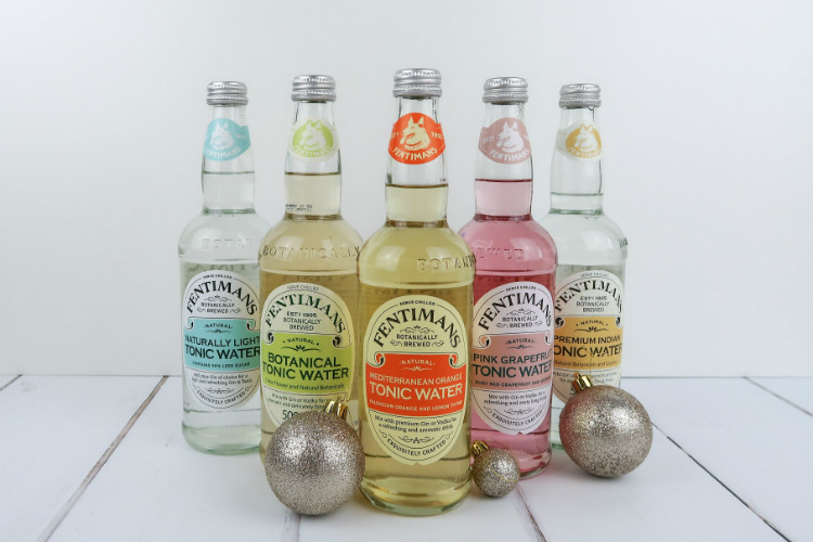 A selection of Fentimans Botanically Brewed Tonic Waters