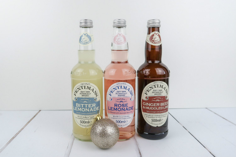 A selection of Fentimans Botanically Brewed soft drinks