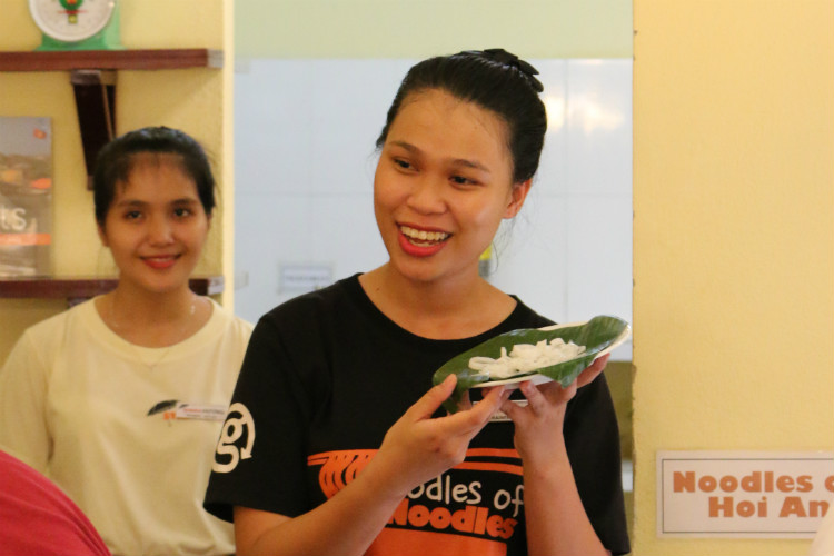 The Oodles of Noodles project in Hoi An, Vietnam - one of the projects supported by Travelsphere Cares