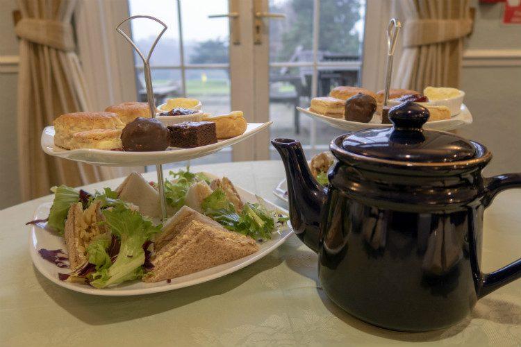 Afternoon tea at Halesowen Golf Club