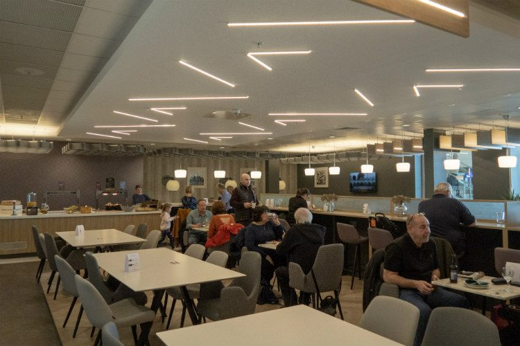 Aspire Lounges airport lounge in Liverpool airport