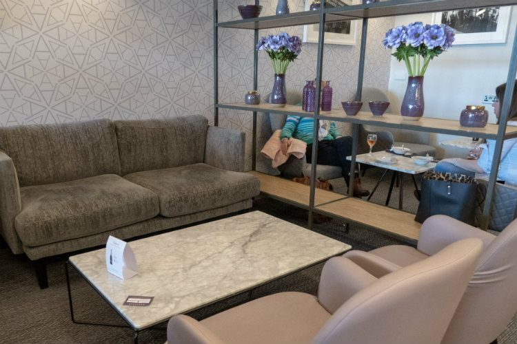 Comfortable seating at Aspire Lounges airport lounge in Liverpool airport
