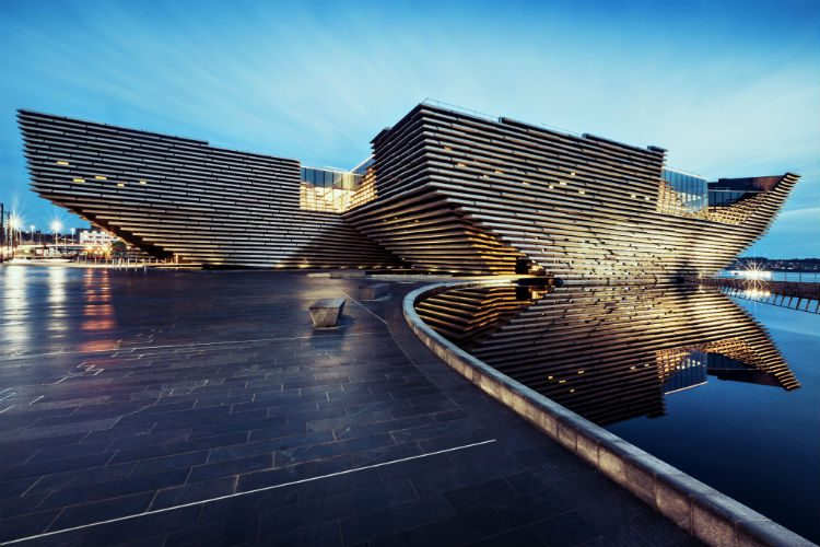 V&A Dundee. Photographed by Ross Fraser McLean