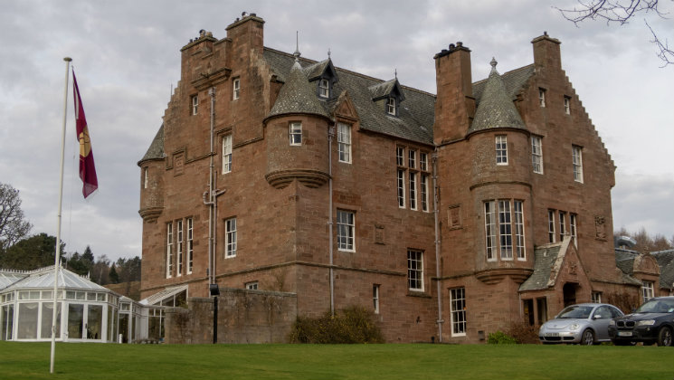 Take a look around Cringletie House, an elegant boutique hotel that's perfect for a luxury getaway in the Scottish Borders [Ad]