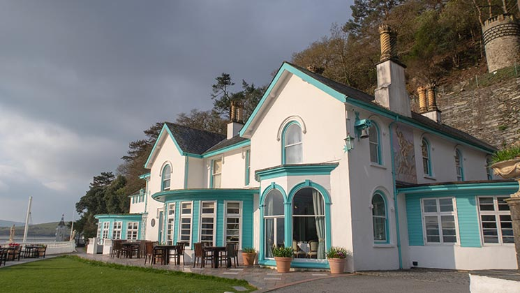 Take a look around Hotel Portmeirion, the luxury hotel at the heart of this unique Italianate village on the Welsh coast [Ad]