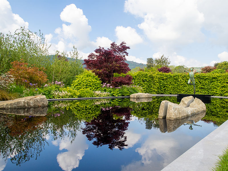 The Garden of Quiet at RHS Malvern 2019