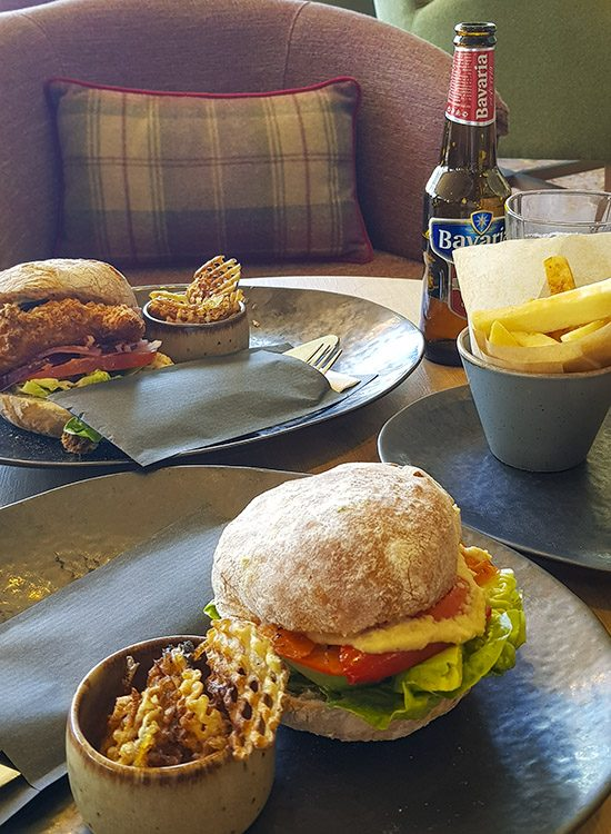 A pub-style lunch at Warner Leisure Hotels Studley Castle in Warwickshire, England