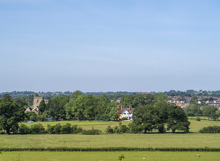 The view from Warner Leisure Hotels Studley Castle in Warwickshire, England